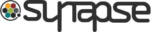 synapse logo with round of gizmos